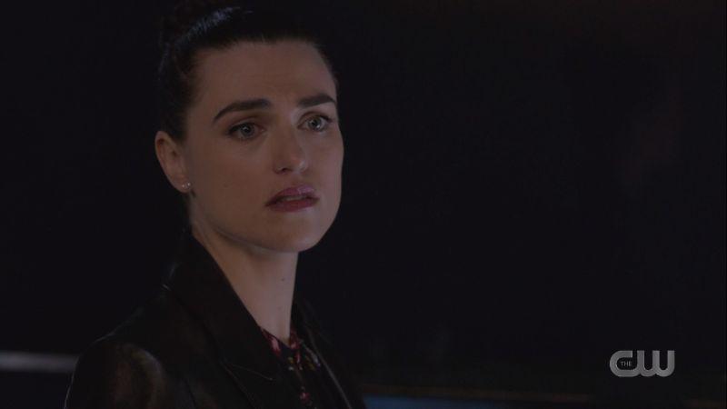 Lena looks devastated