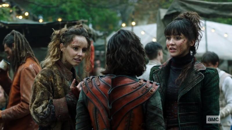 Odessa and Mercy talk to Tilda