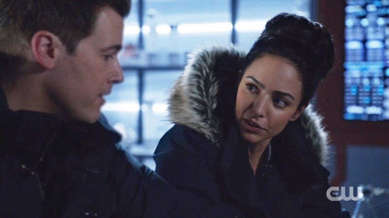 Zari looks a bit dumbfounded at Nate