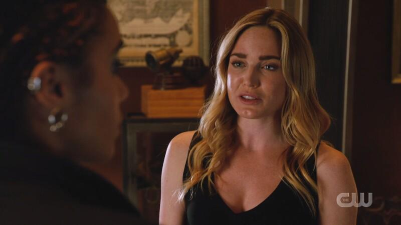 Sara talks to Charlie