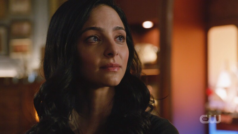 Zari has tears in her eyes