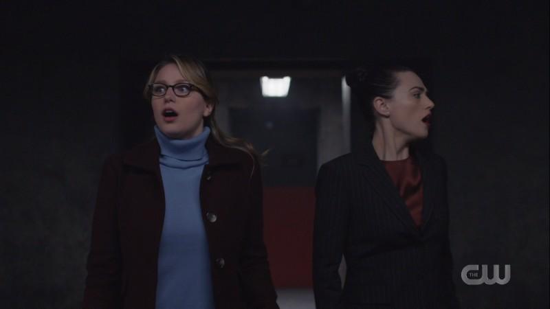 Kara and Lena look for an escape