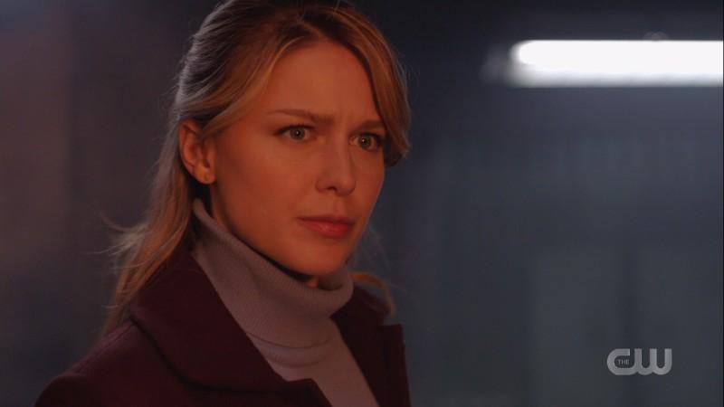 Kara watches her wall burn