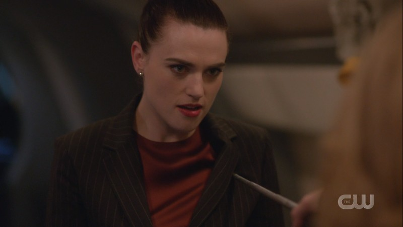 Lena looks like she relishes being stabbed