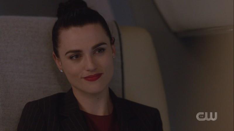 Lena smiles warmly at Kara