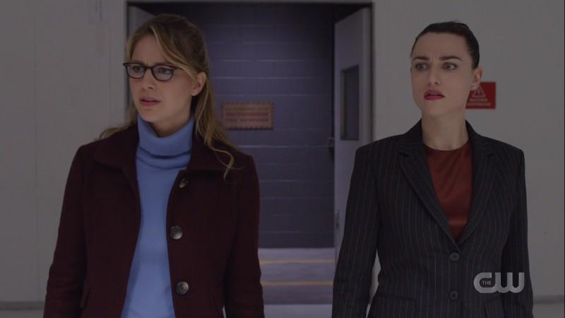 Kara and Lena survey the torture room