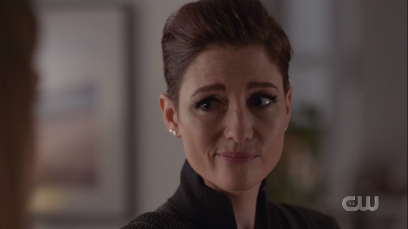 alex smirks at kara's comment about them being better together