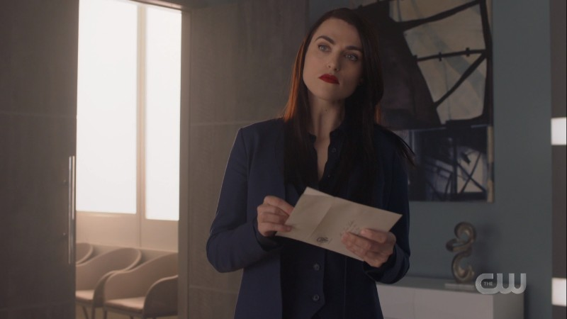 Lena holds a letter