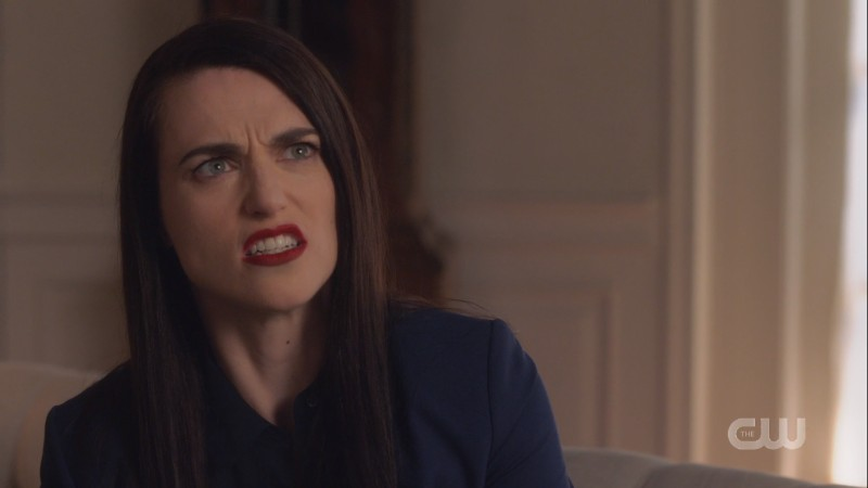 lena looks utterly disgusted