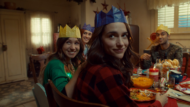 Wynonna and Waverly smile