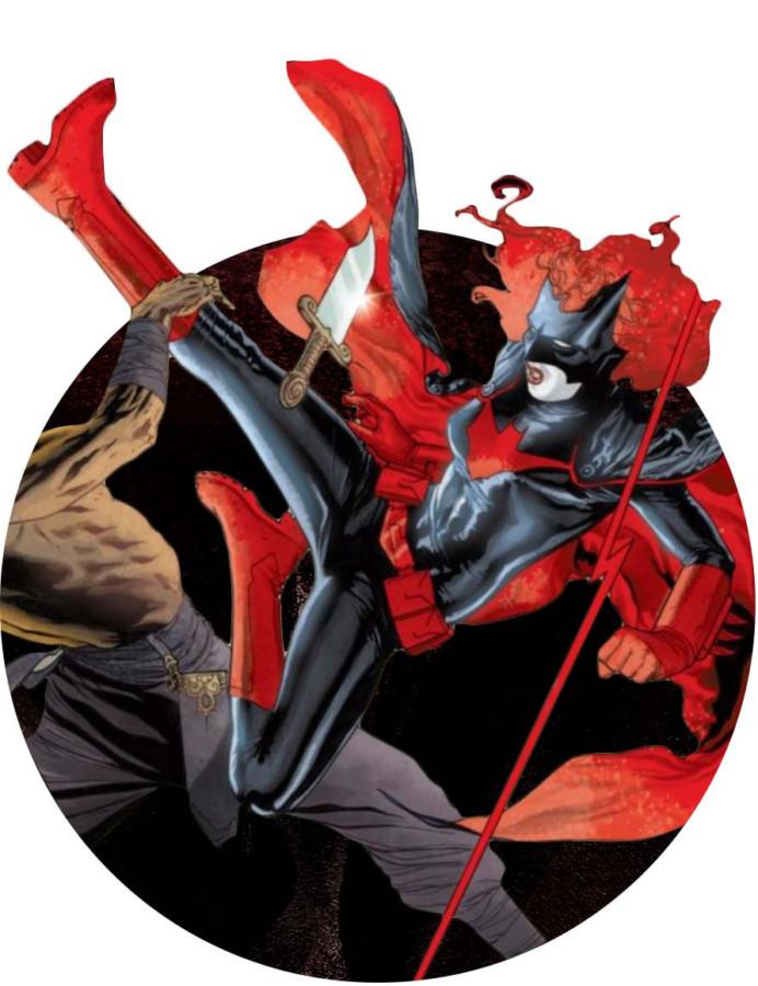 Image via DC Comics, <em>Batwoman</em> #0