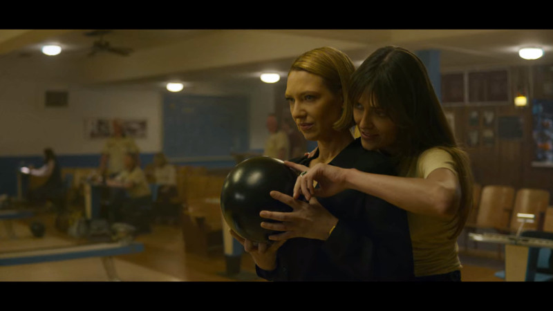 kay teaches wendy how to bowl