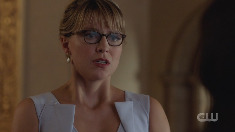 Kara looks distraught like the confession startled her too