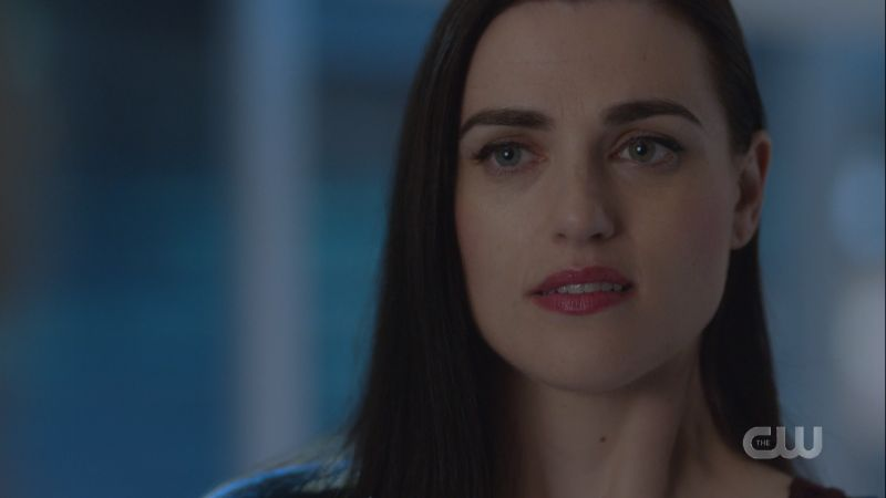 Lena looks like she is having second thoughts
