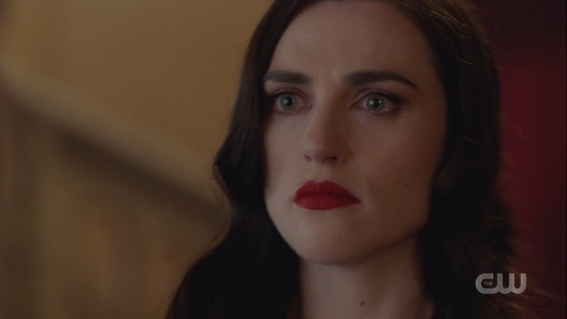Lena looks shocked