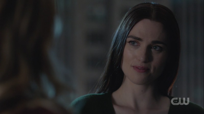 Lena smiles at Kara