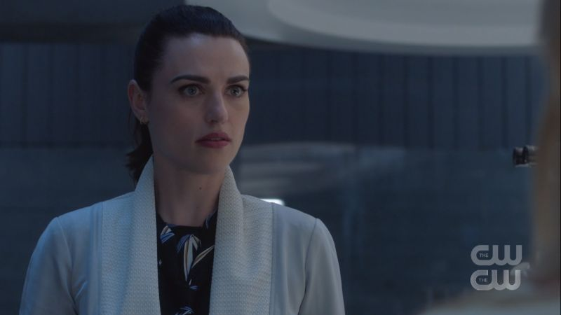 Lena still looks a little conflicted but mostly just pretty