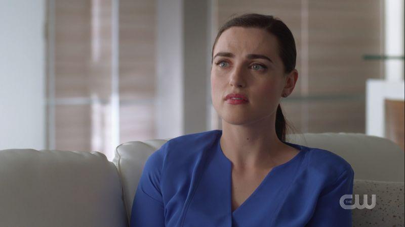 Lena looks regretful