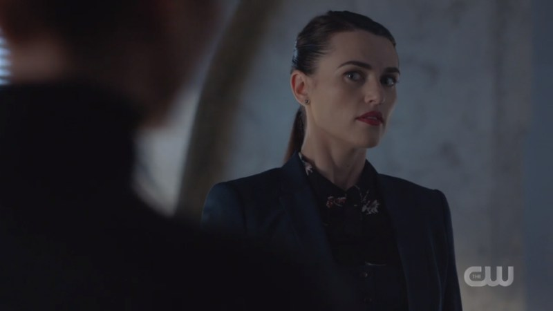 Lena looks at Alex's rage with curiosity
