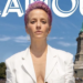 No Filter: Megan Rapinoe In a White Blazer on a Boat Upstages Large Green Statue