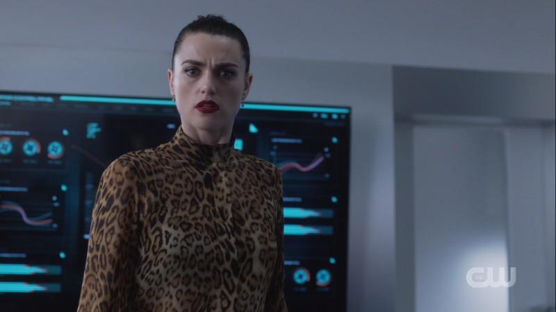 Lena looks surprised