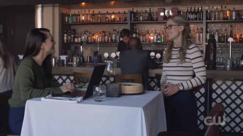 Lena and Kara on their first date...fine, friend hangout whatever
