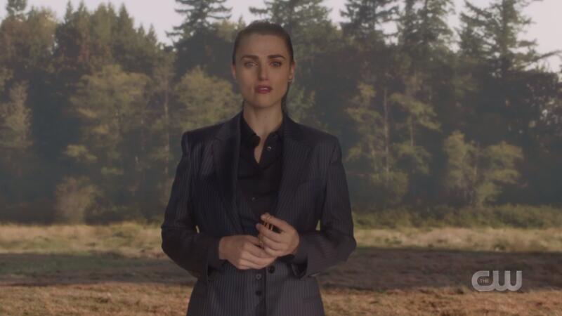 Lena looks sad but sharp as hell