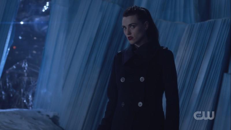 Lena looks up menacingly