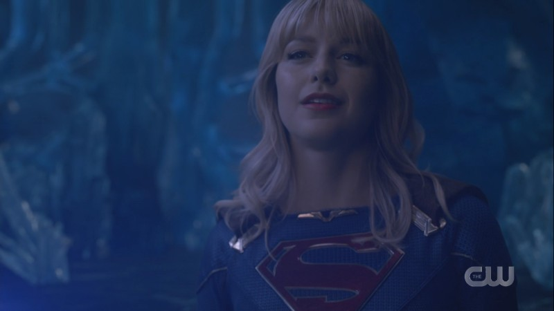 Supergirl is ready to fight