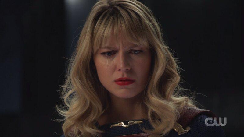 Kara cries