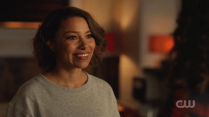 Nora West-Allen smiling