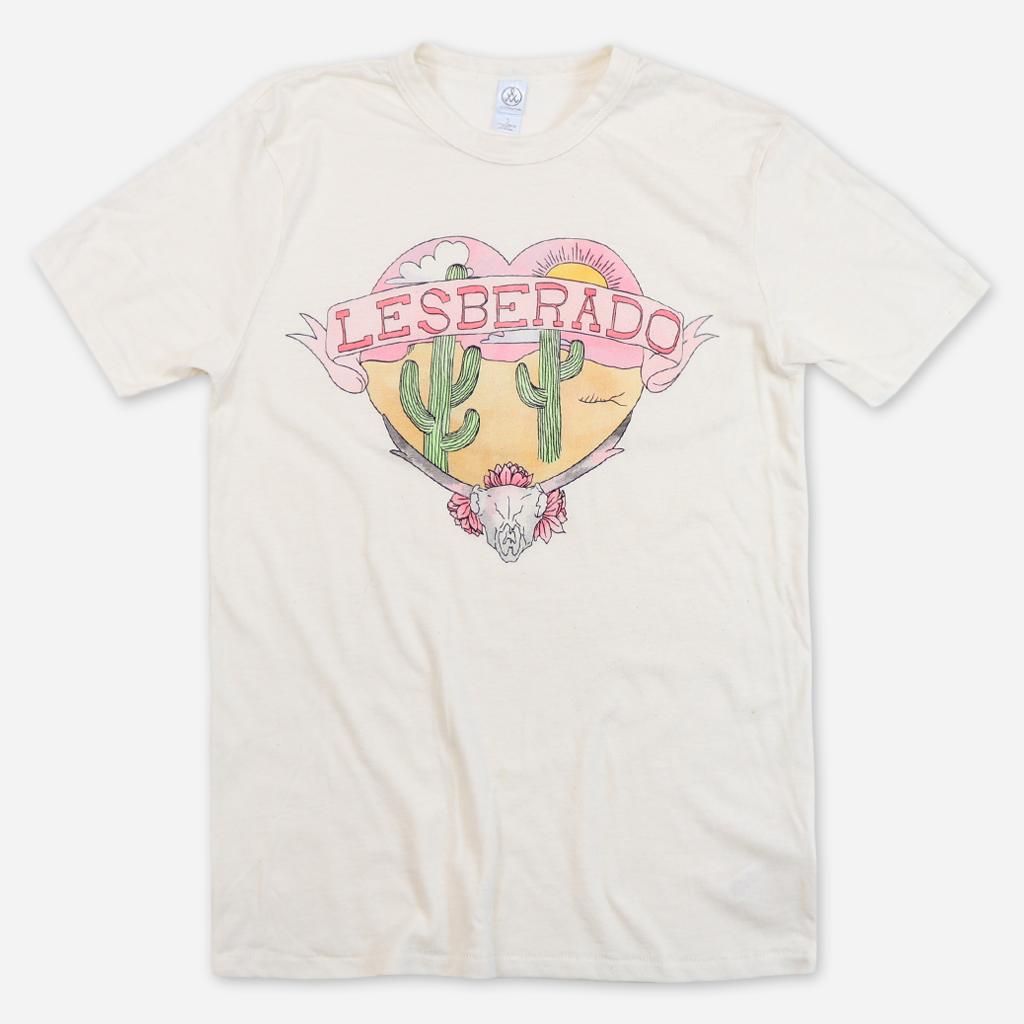 autostraddle merch lesberado shirt