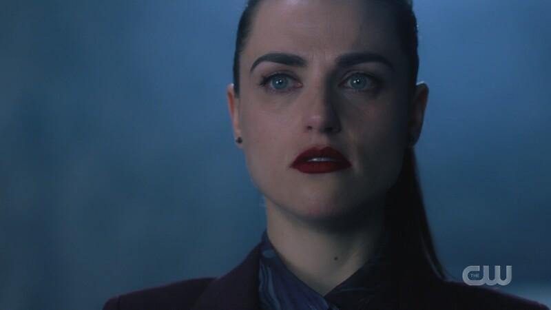 Lena looks sad but determined