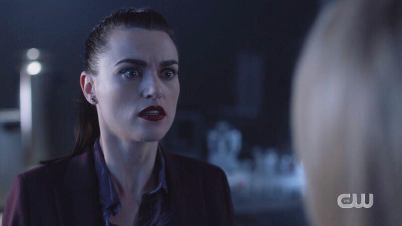 Lena looks desperately at Hope