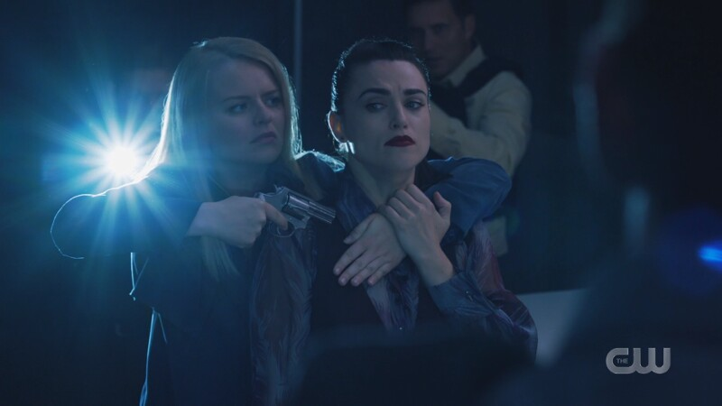 Lena pretends to be held captive