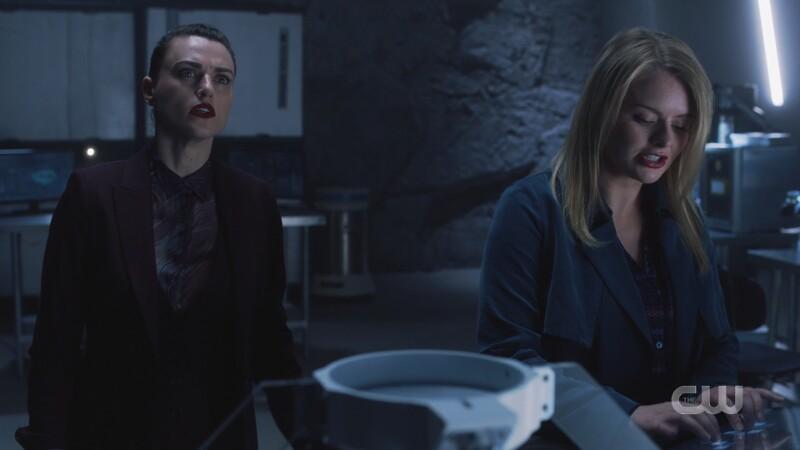 Lena looks stressed