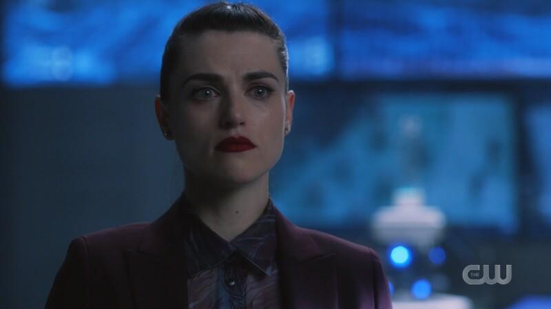 Lena looks defiant and sad