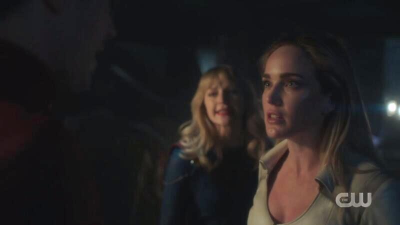 Sara yells at Barry