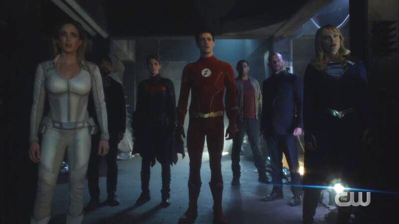 Superhero lineup