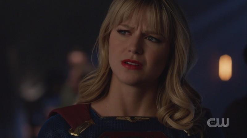 Kara looks concerned