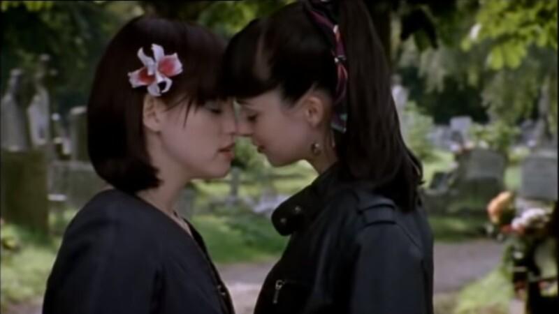 Thelma and Maya Kiss