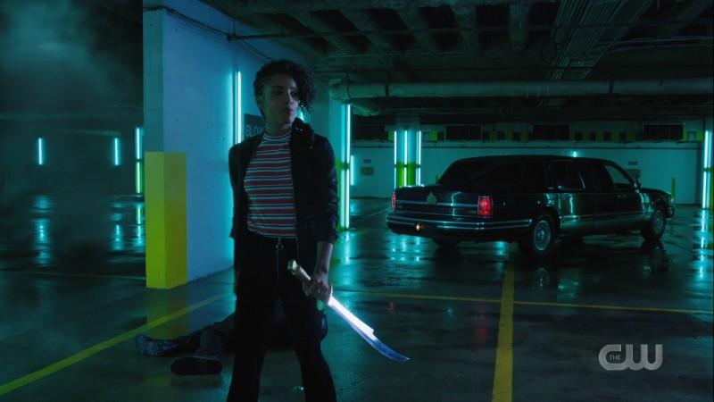 chalrie has a sword