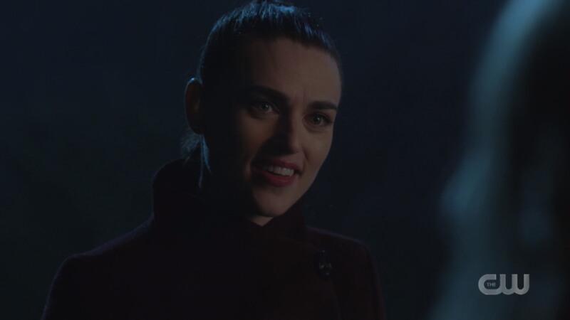 Lena smiles