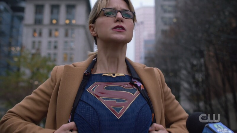 kara reveals her super crest