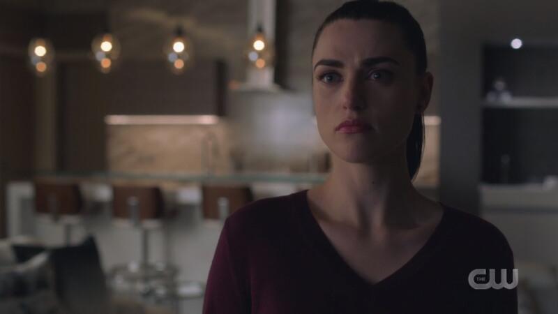 Lena looks surprised and hurt