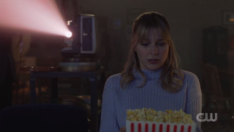 Kara isn't ready but she has popcorn