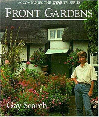 Cover image of the book Front Gardens by Gay Search. Yes, that's a real book.