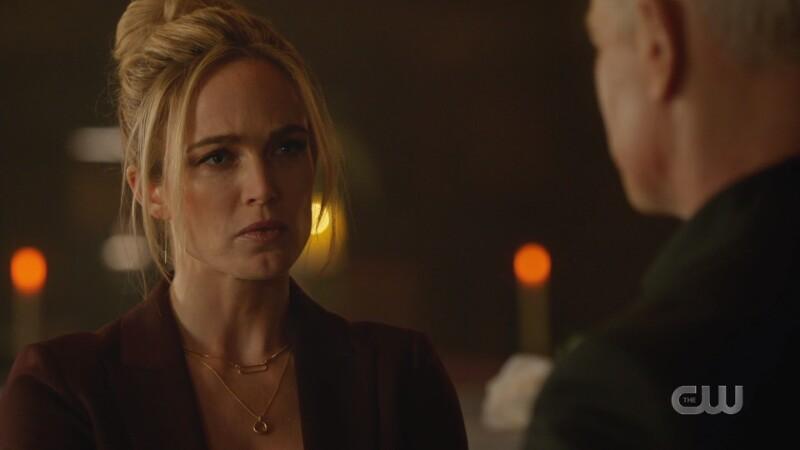 Sara glares at Darhk