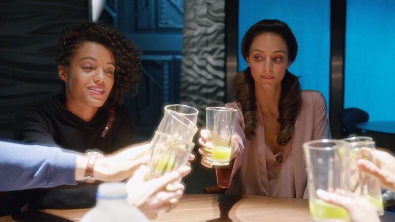 Zari and charlie toast
