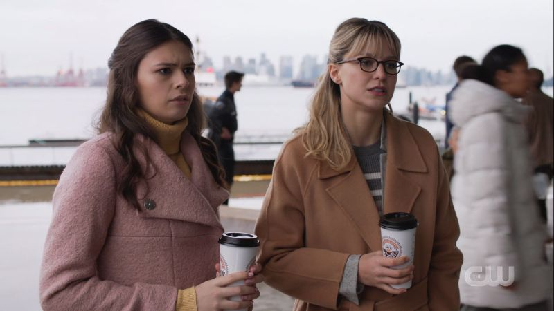 Nia and Kara awkwardly watch William leave
